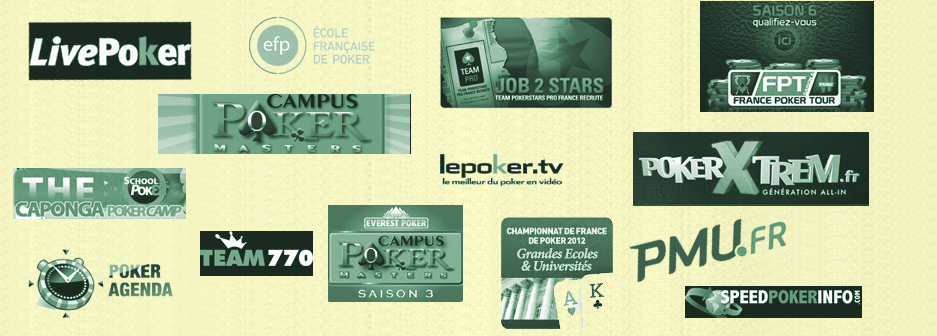 Les references internet, poker, de Aces Dream